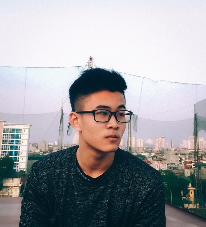 Nhận học bổng du học Mỹ gần 5 tỷ đồng, nam sinh Hà Nội muốn tạo ra robot bác sĩ tâm lý - Ảnh 1.