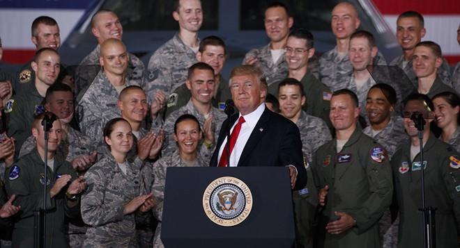 Cuộc duyệt binh giữa Washington thành hiện thực: Ý tưởng thiên tài của tổng thống Trump - Ảnh 1.