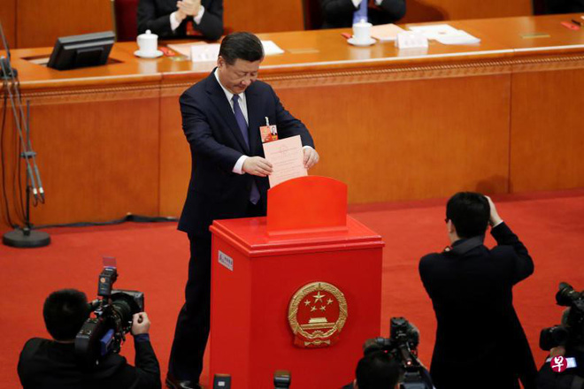 Gần 100% ĐBQH Trung Quốc nhất trí chính thức xóa giới hạn nhiệm kỳ Chủ tịch nước - Ảnh 1.