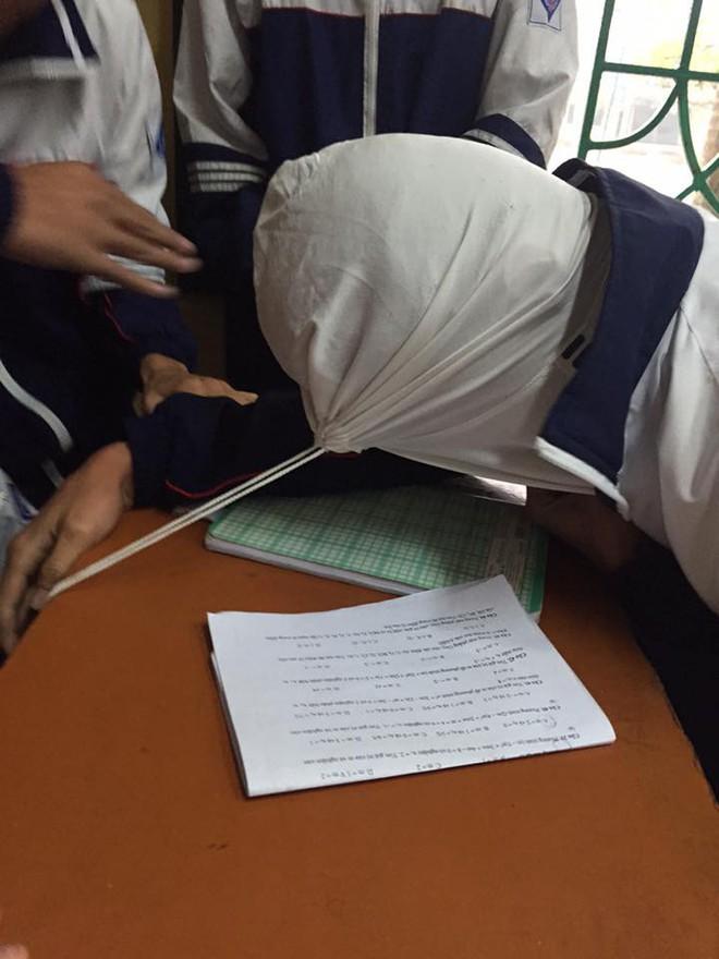 Trò nghịch dại của nhóm học sinh khiến nhiều người hoảng hốt - Ảnh 9.