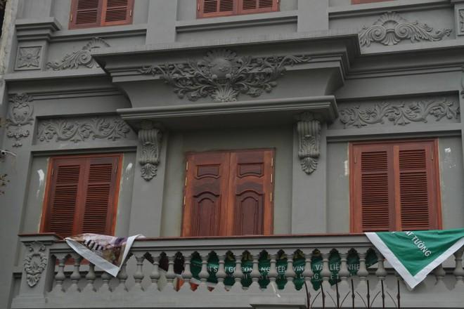 Nhiều hạng mục công trình biệt thự của gia đình ông Nguyễn Thanh Hóa đã hoàn thiện.