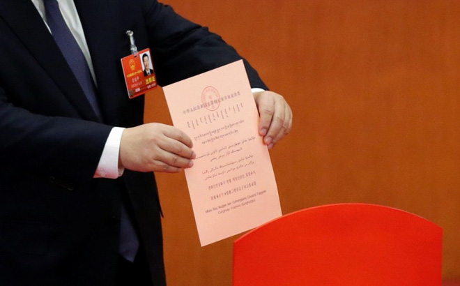 Biểu quyết trước Quốc hội: Nhiều khu vực bảo mật được thiết kế cho đại biểu Trung Quốc