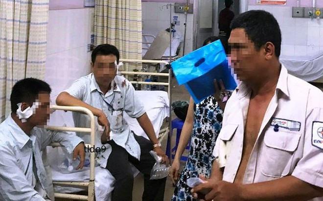 Bốn nhân viên điện lực bị chém, truy sát vào tận bệnh viện