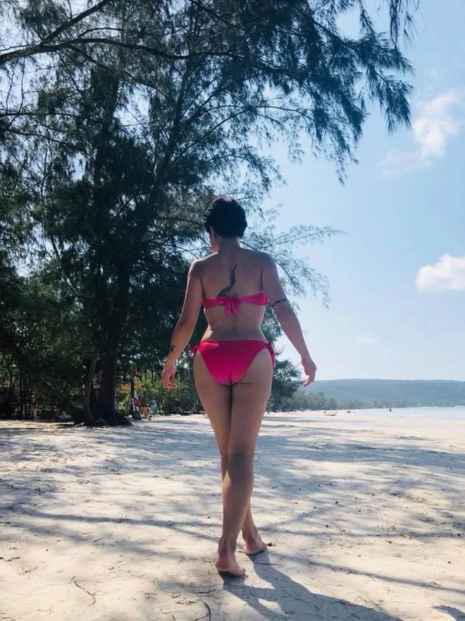 Hình ảnh bikini khỏe khoắn đầy sexy của Uyên Linh - Ảnh 1.