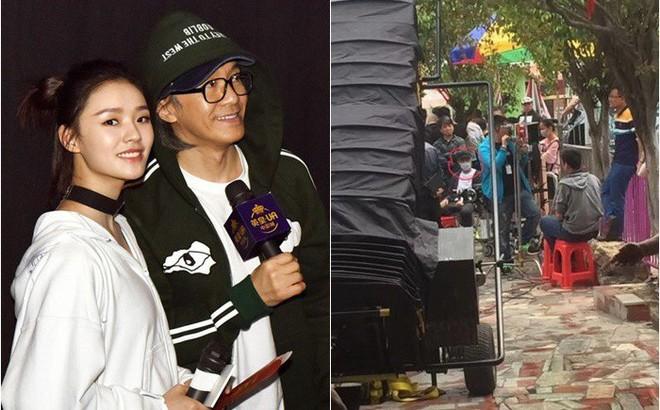 """Lộ ảnh phim trường """"Mỹ nhân ngư 2"""", Lâm Doãn tiếp tục được Châu Tinh Trì chọn đóng chính?"""