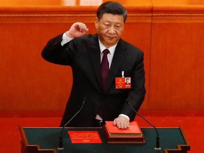 Đại biểu Trung Quốc rơi lệ khi ông Tập Cận Bình tuyên thệ nhậm chức Chủ tịch nước - Ảnh 7.