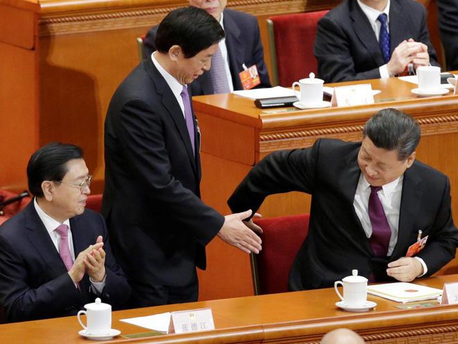 Đại biểu Trung Quốc rơi lệ khi ông Tập Cận Bình tuyên thệ nhậm chức Chủ tịch nước - Ảnh 12.