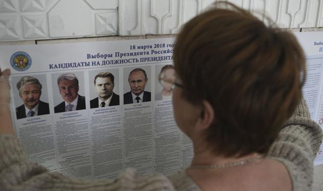 Tổng tuyển cử Nga 2018: Người dân bắt đầu đi bỏ phiếu bầu tổng thống - Ảnh 1.