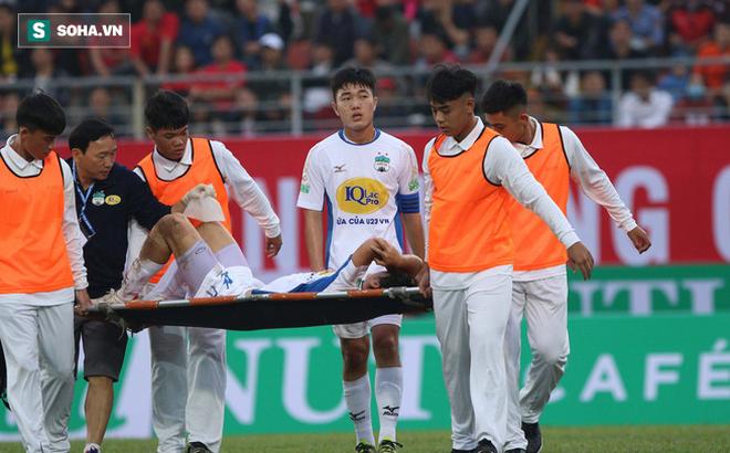 Chấn thương bất ngờ, Tuấn Anh phải nghỉ thi đấu bao nhiêu lâu?