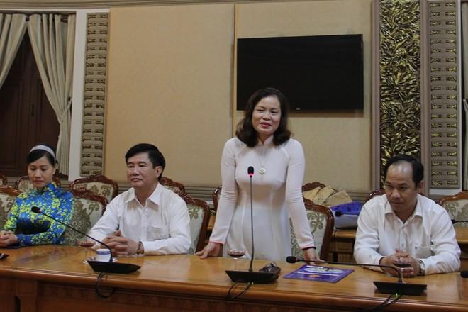 Bà Nguyễn Thị Hồng Hạnh làm phó giám đốc Sở Tư pháp TP - Ảnh 1.