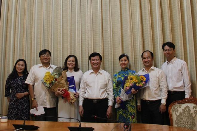 Bà Nguyễn Thị Hồng Hạnh làm phó giám đốc Sở Tư pháp TP - Ảnh 2.