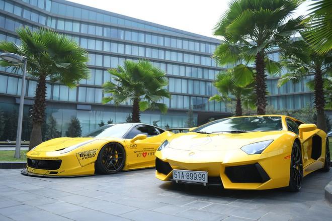 Dàn siêu xe tham dự Car & Passion 2018 đổ bộ khách sạn Hà Nội - Ảnh 5.