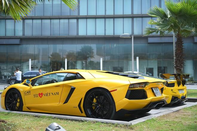 Dàn siêu xe tham dự Car & Passion 2018 đổ bộ khách sạn Hà Nội - Ảnh 6.
