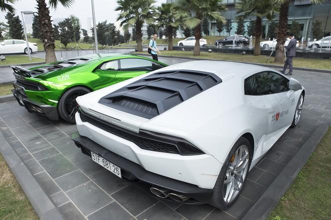 Dàn siêu xe tham dự Car & Passion 2018 đổ bộ khách sạn Hà Nội - Ảnh 14.