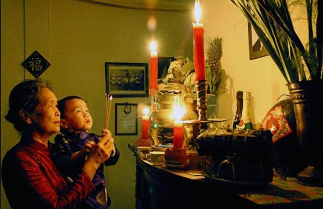 Nghi lễ cúng Rằm tháng Giêng trong nhà và ngoài trời đầy đủ nhất - Ảnh 1.