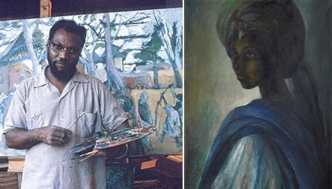 Mệnh danh là Mona Lisa châu Phi, bức họa kỳ lạ được rao bán hơn 1.6 triệu USD - Ảnh 3.