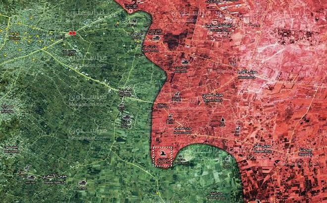 """Tung đòn hiểm, """"Hổ Syria"""" làm cỏ phiến quân tử thủ căn cứ phòng không Đông Ghouta"""