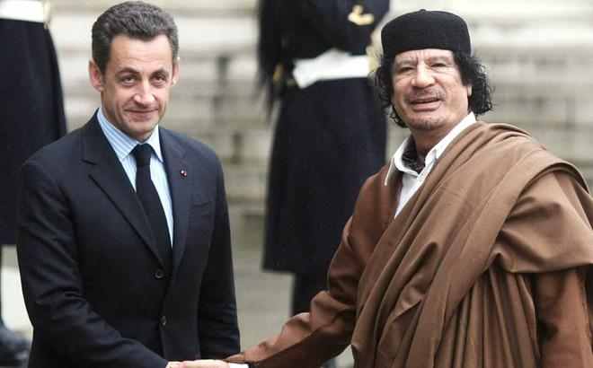 Báo Anh: Gaddafi bị mật vụ Pháp giết theo lệnh cựu Tổng thống Nicolas Sarkozy