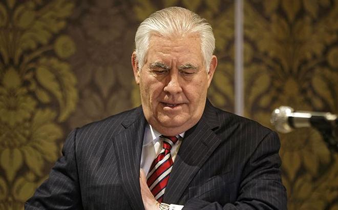 """Tillerson tạm biệt Bộ Ngoại giao Mỹ: Đây là một thành phố """"hiểm ác"""""""