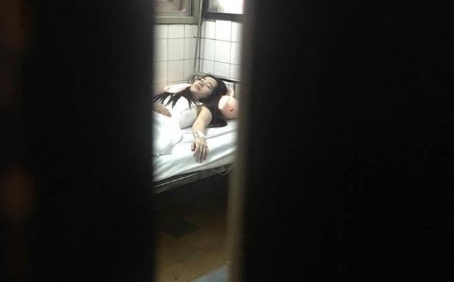 Hình ảnh Nam Em nằm viện sau khi tiết lộ chuyện tình 30 ngày với Trường Giang