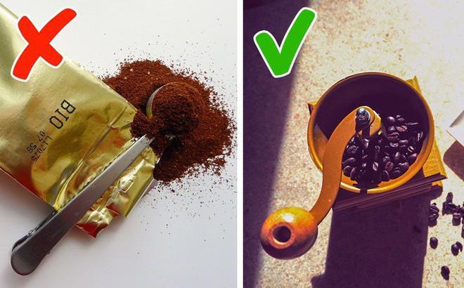 11 sai lầm bạn buộc phải tránh nếu muốn thưởng thức được một ly cà phê đúng chuẩn