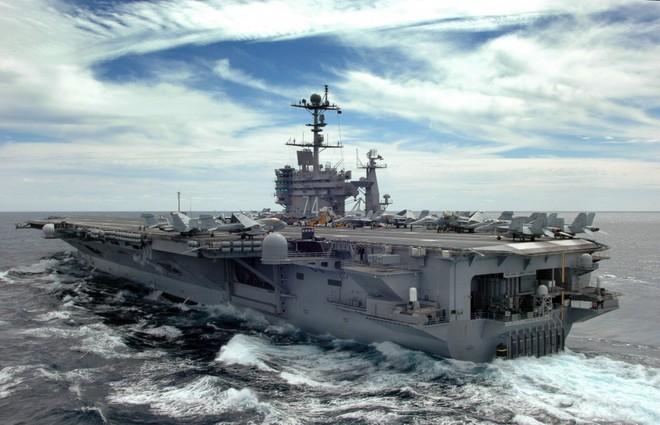 Cận cảnh những tàu sân bay cùng lớp với USS Carl Vinson sắp thăm Việt Nam - Ảnh 11.