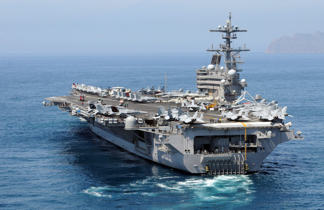 Cận cảnh những tàu sân bay cùng lớp với USS Carl Vinson sắp thăm Việt Nam - Ảnh 17.