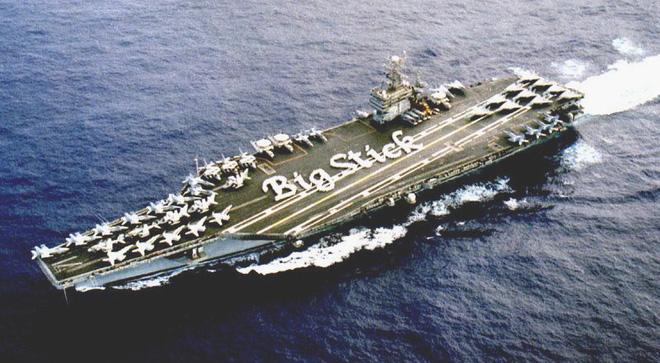 Cận cảnh những tàu sân bay cùng lớp với USS Carl Vinson sắp thăm Việt Nam - Ảnh 6.
