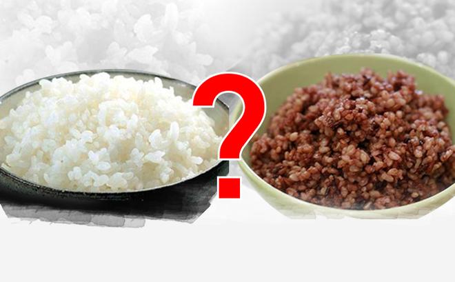 Image result for gạo lứt hay gạo trắng bình thường
