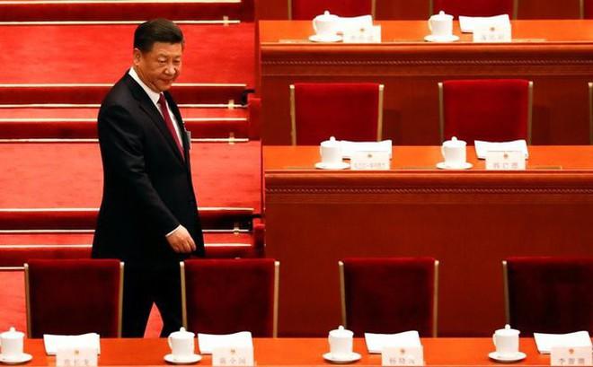 Báo cáo chính phủ TQ: Ông Tập vượt Đặng Tiểu Bình, chỉ xếp sau Mao Trạch Đông về số lần xuất hiện