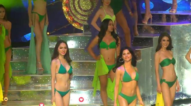 Hương Giang khoe body nóng bỏng trong vòng thi bikini HH Chuyển giới Quốc tế - Ảnh 4.