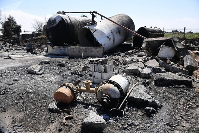 Mỹ cân nhắc tấn công quân sự Syria - Ảnh 1.
