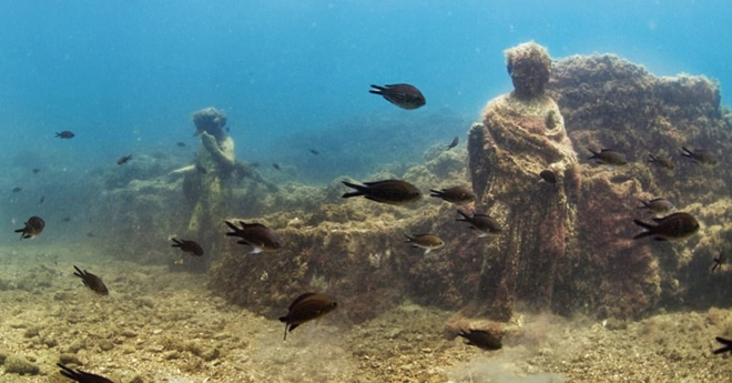 Đi thám hiểm ngay bởi Baia - thành phố tội lỗi của La Mã chìm sâu dưới đáy biển sắp bị đóng cửa - Ảnh 3.