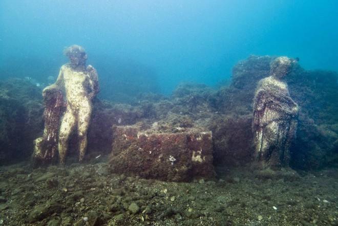Đi thám hiểm ngay bởi Baia - thành phố tội lỗi của La Mã chìm sâu dưới đáy biển sắp bị đóng cửa - Ảnh 5.