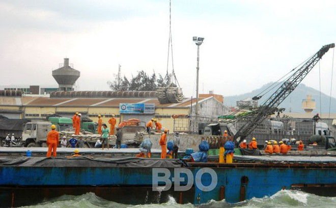 Luồng cảng Quy Nhơn thông thoáng trở lại sau sự cố chìm tàu