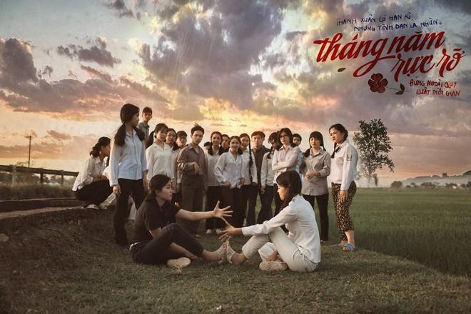 Xem kỷ yếu của nhóm học sinh Ninh Bình mà cứ ngỡ đang thưởng thức phim đi tranh giải Cánh diều vàng - Ảnh 1.
