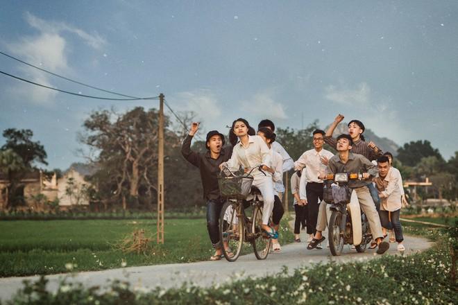 Xem kỷ yếu của nhóm học sinh Ninh Bình mà cứ ngỡ đang thưởng thức phim đi tranh giải Cánh diều vàng - Ảnh 5.