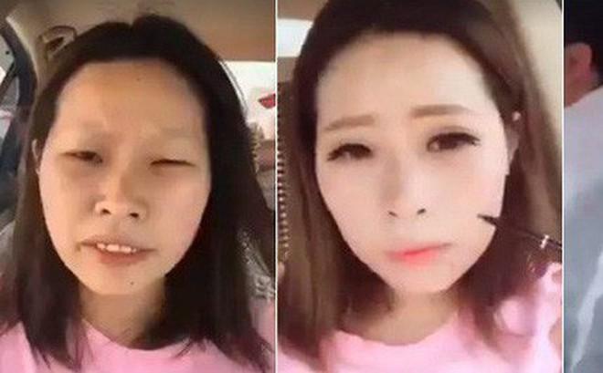 Clip: Con gái chỉ cần makeup thôi là như biến thành một người khác rồi!