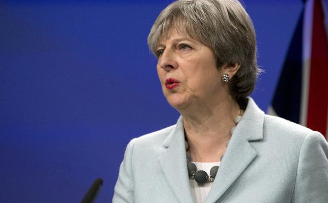 """Thủ tướng Anh Theresa May: """"Cuộc tấn công Syria đúng về cả lí lẫn tình"""""""