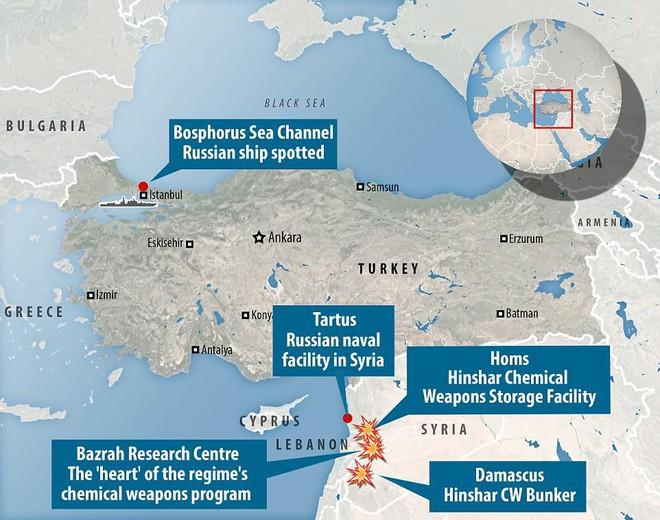 Nga cấp tốc chở vũ khí sang tiếp sức cho Syria: Hầm tàu chất đầy tên lửa phòng không? - Ảnh 6.
