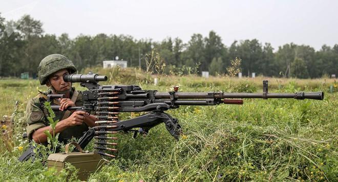 Dùng súng máy 12 ly 7 bắn tên lửa hành trình Tomahawk: Quyết không được sợ - Ảnh 1.