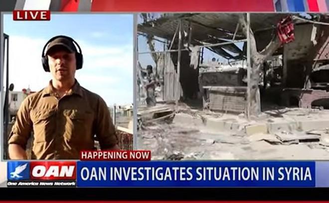 Nhà báo Mỹ vạch trần âm mưu ngụy tạo vụ tấn công hóa học tại Syria