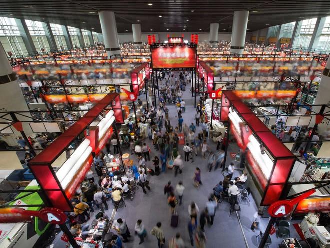 Bên trong hội chợ tỷ đô lớn nhất tại Trung Quốc - Ảnh 1.