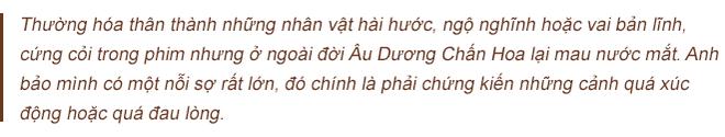 Âu Dương Chấn Hoa trả lời độc quyền báo Việt Nam: 20 năm không con cái, hạnh phúc viên mãn bên vợ tỷ phú - Ảnh 10.