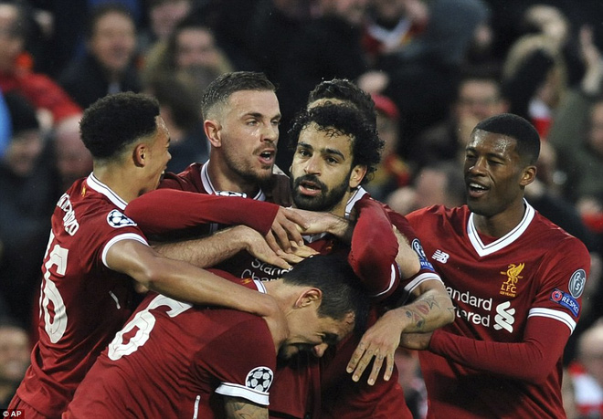 Salah khơi mào cho đêm Liverpool vùi dập AS Roma, khiến Barca tiếc đến ngẩn ngơ - Ảnh 12.
