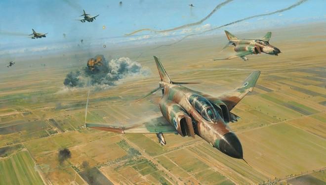 Không quân Israel đập nát liên minh Ả rập hùng mạnh: Chiến tích vô tiền khoáng hậu - Ảnh 1.