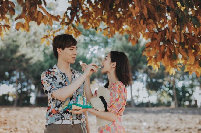 Jun Vũ ngại ngùng khi lần đầu diễn cảnh hôn Erik - Ảnh 3.