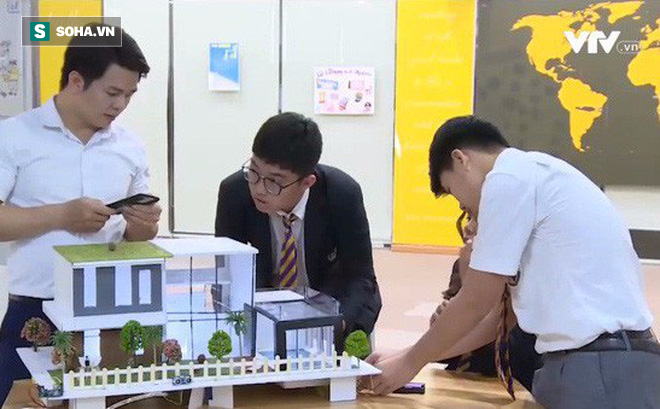 Sáng chế của học sinh lớp 9: Nhà thông minh tự phòng cháy, chữa cháy