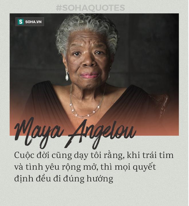Maya Angelou là ai mà Google kỷ niệm ngày sinh? Câu nói nổi tiếng nhất của bà là gì? - Ảnh 4.