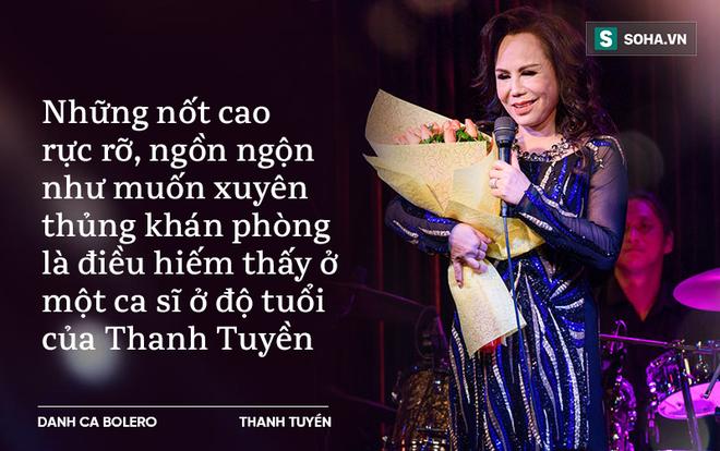 Thanh Tuyền: 70 tuổi vẫn hát nốt cao rực rỡ, căng tràn như muốn xuyên thủng khán phòng (P2) - Ảnh 4.